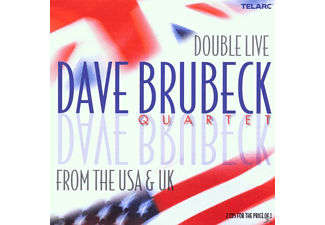 Dave Brubeck - Double Live From The USA And UK - (CD)