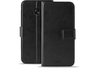 PURO Eco-leather Wallet Galaxy A3 2017 Black - (SGGA317BOOKC4BLK)