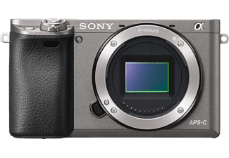 SONY Hybride camera Alpha 6000 Body Graphite (ILCE6000H)