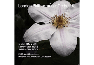 The London Philharmonic Orchestra - Beethoven Sinfonie 1 And 4 - (CD)