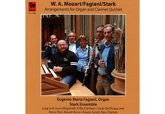Eugenio Maria Fagiani, Organ Stark Ensemble - Arrangements für Orgel und Klarinettenquintett - (CD)