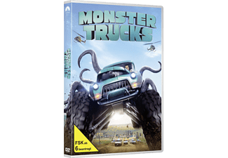 Monster Trucks - (DVD)