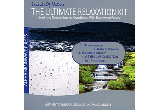 Relaxing Sounds Of Nature - The Ultimate Relaxation Kit (Ocean Waves, Rain Ambience, Mountain Stream) - (CD)