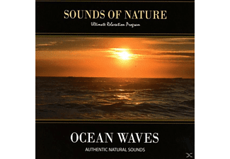 Relaxing Sounds Of Nature - Ocean Waves - (CD)