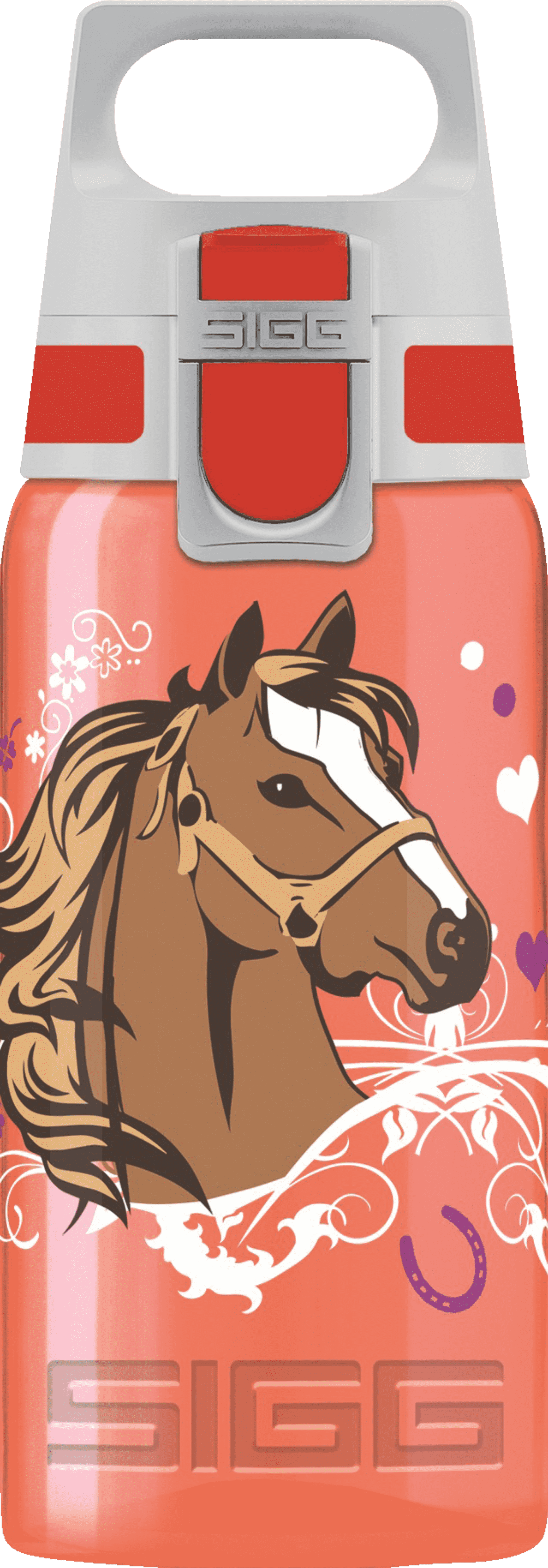 SIGG 8627.5 Viva One Horses Trinkflasche in Rot
