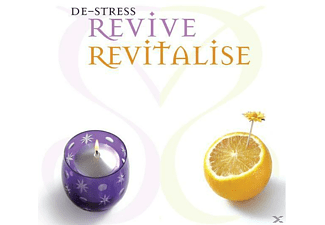 VARIOUS - De-Stress Revive-Revitalise - (CD)