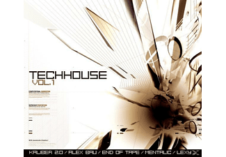 VARIOUS - Techhouse Vol.1 - (CD)