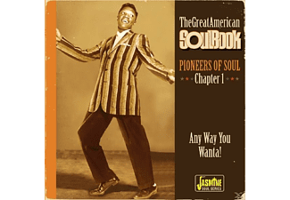 VARIOUS - GREAT AMERICAN SOUL BOOK - (CD)