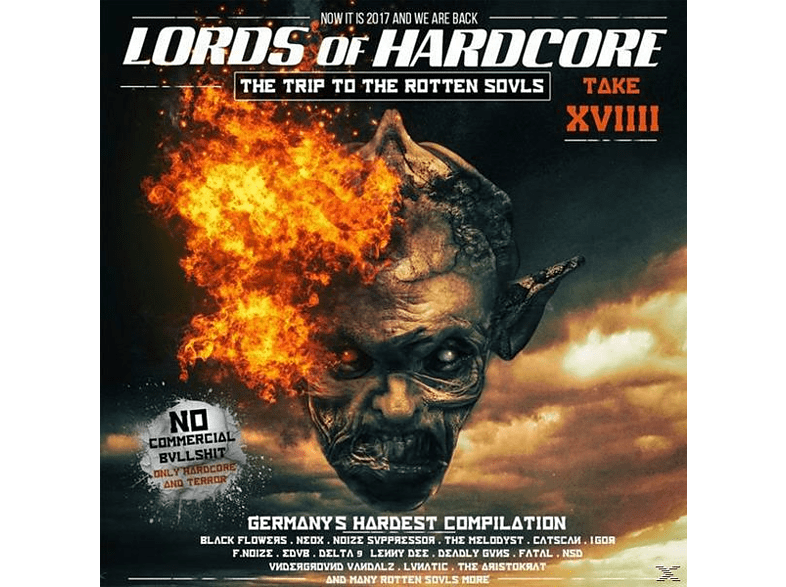 VARIOUS - Lords Of Hardcore Vol.19 [CD]