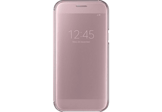 SAMSUNG Clear View Cover till Galaxy A5 - Rosa