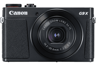 CANON Powershot G9 X Mark II Digitalkamera, 20.9 Megapixel, 3x opt. Zoom, Schwarz