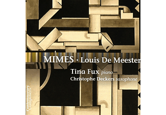 Christophe Deckers, Tina Fux - Mimes - (CD)