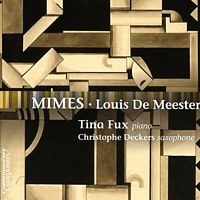 Christophe Deckers, Tina Fux - Mimes [CD]