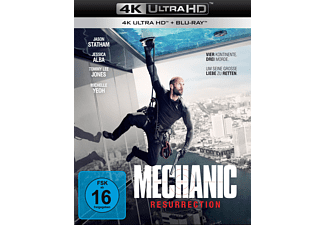 Mechanic: Resurrection - (4K Ultra HD Blu-ray + Blu-ray)