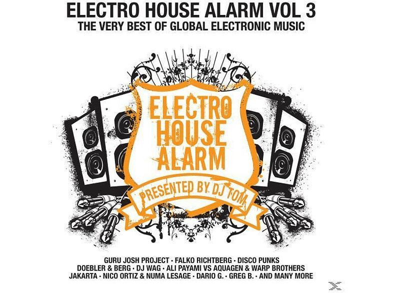 VARIOUS - Electro House Alarm Vol.3 [CD]