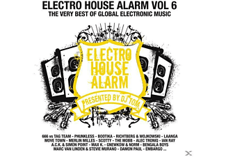 VARIOUS - Electro House Alarm Vol.6 - (CD)