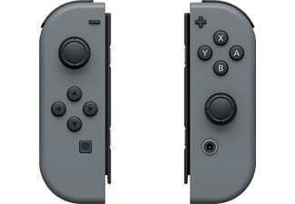 NINTENDO Switch Paire de manettes Joy-Con Gris