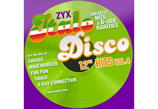 "VARIOUS - ZYX Italo Disco 12"" Hits Vol.4 - (CD)"