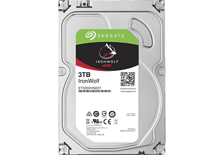 SEAGATE NAS Festplatte 3TB HDD Iron Wolf 5900rpm 6Gb/s SATA 64MB (ST3000VN007)