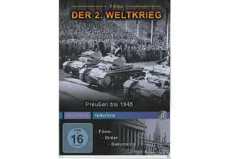 PREUSSEN BIS 1945 (MILITARY DOKUFILMS) - (DVD)
