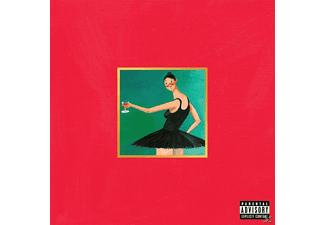 Kanye West My Beautiful Dark Twisted Fantasy HipHop CD