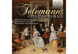 F.Guglielmo-D.Laurin-C.Contadin-R.Loreggian - Telemann-Collection - (CD)