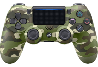 PLAYSTATION Draadloze controller PS4 Dualshock 4 V2 Green Camouflage (9894650)