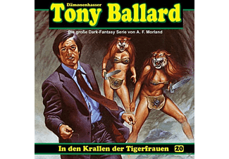 Tony Ballard 20-In Den Krallen Der Tigerfrauen - 1 CD - Horror