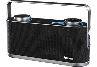 HAMA Soundchest, Bluetooth-Lautsprecher, Ausgangsleistung 24 Watt, Near Field Communication, Grau