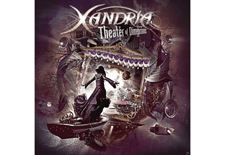 Xandria - Theater Of Dimensions (2CD Mediabook) - (CD)