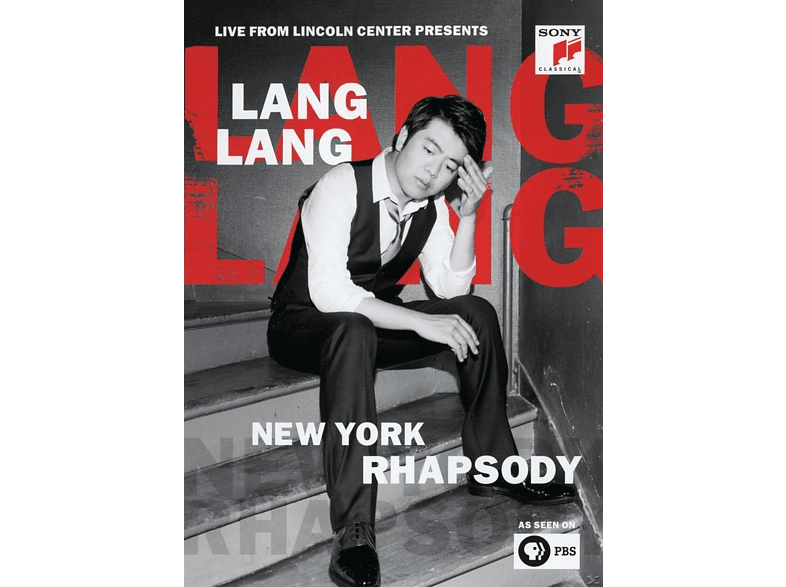 Lang Lang - New York Rhapsody/Live from Lincoln Center [DVD]