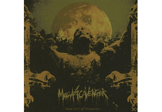 Megascavenger - Descent Of Yuggoth - (CD)