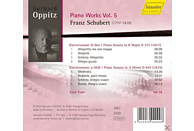 Gerhard Oppitz - Schubert 5: Piano Works [CD]