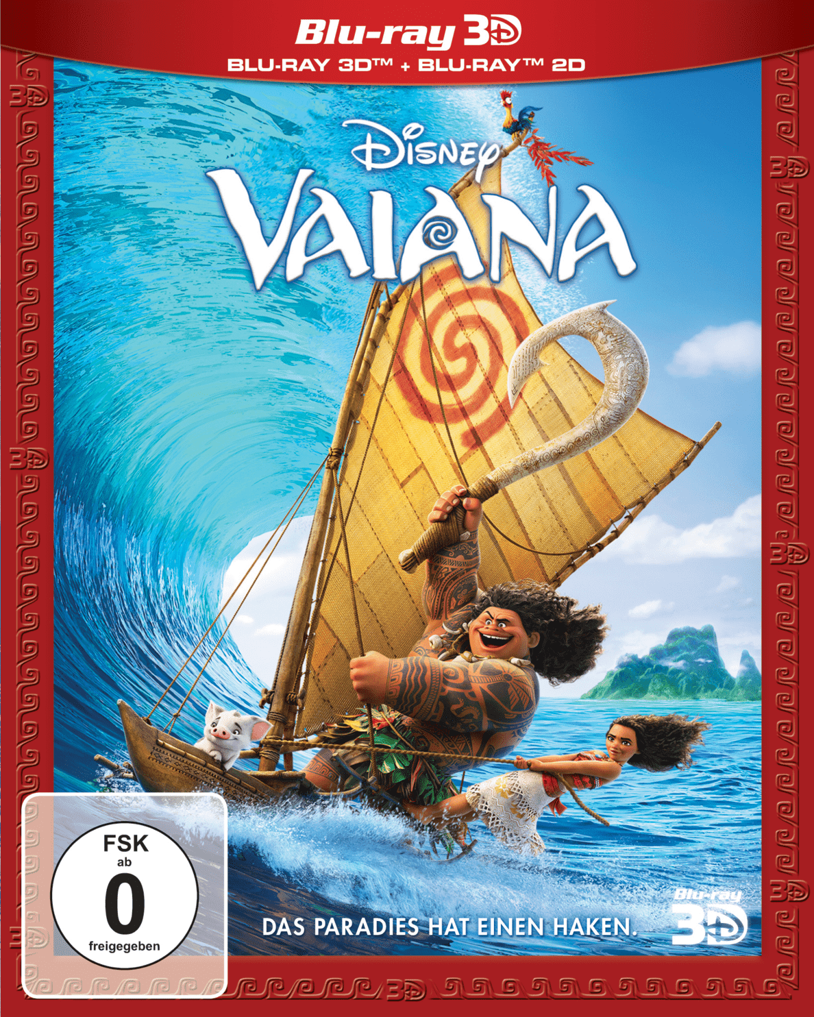Vaiana (Special Edition) - (3D Blu-ray (+2D))