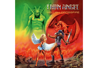 Iron Angel - Hellish Crossfire (Green Vinyl/Poster) - (Vinyl)