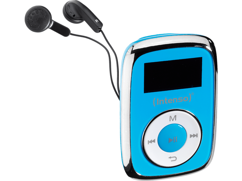 INTENSO  Music Mover Mp3-Player (8 GB, Blau) | 04034303024650