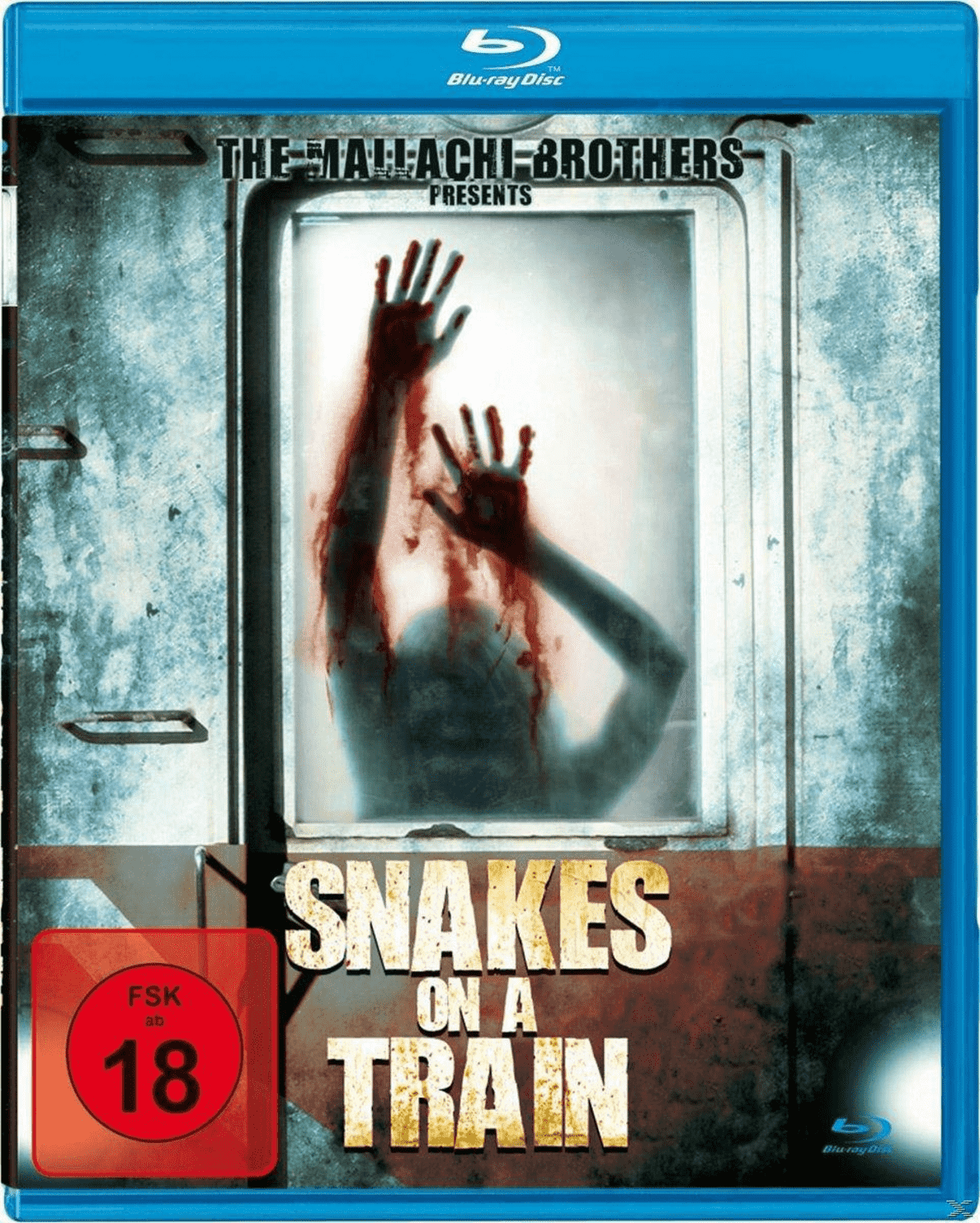 Snakes On A Train auf Blu-ray