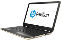 HP Pavilion 15-au170ng, Notebook, Core™ i5 Prozessor, 1 TB HDD, 128 GB SSD, GeForce 940MX, Gold