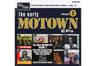 VARIOUS - The Early Motown Eps Vol.2 (7 Inch Boxset) - (Vinyl)
