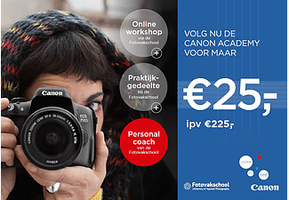 CANON Workshop voor EOS