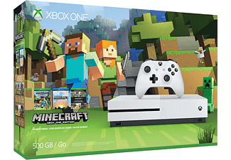 MICROSOFT Xbox One S Minecraft Favorites Bundle 500GB