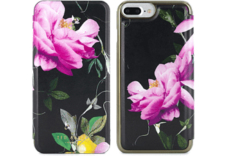 TED BAKER AW16 VENECE Mirror Folio Case for iPhone 7 Plus - Citrus Bloom Black