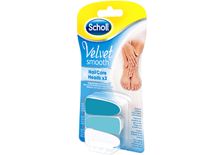 SCHOLL Recharges pour lime à ongle (VELVET SMOOTH ELECTRONIC NAIL CARE 3019200)