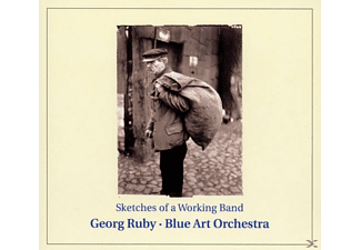 Blue Art Orchestra - Sketches of a working band - (CD)