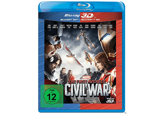 The First Avenger: Civil War Action 3D BD&2D BD, Blu-Ray