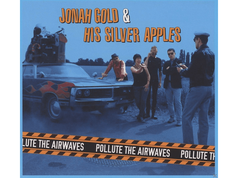 Jonah Gold, His Silver Apples - Pollute The Airways [CD]