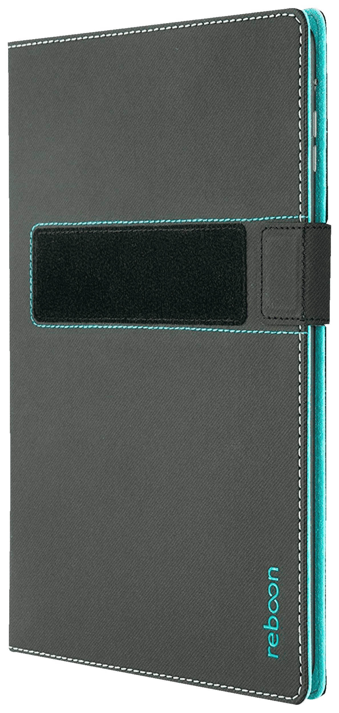 REBOON booncover L2 Tablethülle, Bookcover, Schwarz