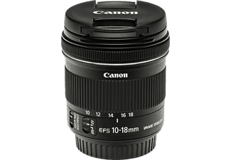 CANON EF-S 10-18 mm f/4.5-5.6 IS STM objektív