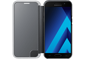 SAMSUNG Clear View Cover Black Galaxy A5(2017) - (EF-ZA520CBEGWW)