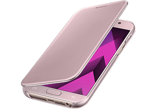 SAMSUNG Clear View Cover Pink Galaxy A5(2017) - (EF-ZA520CPEGWW)
